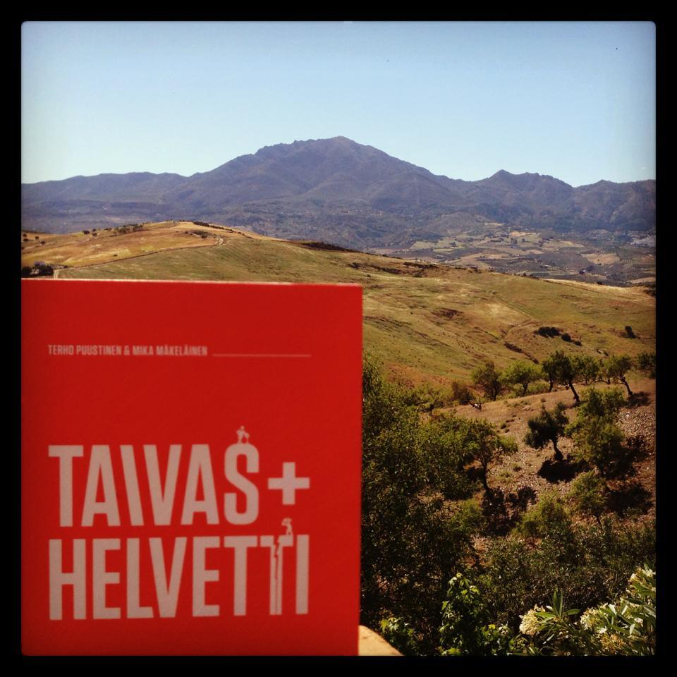 Vieraskirjoitukseni Taivas+Helvetti-sivuilla: Ihmiset haluavat ja tarvitsevat inspiraatiota