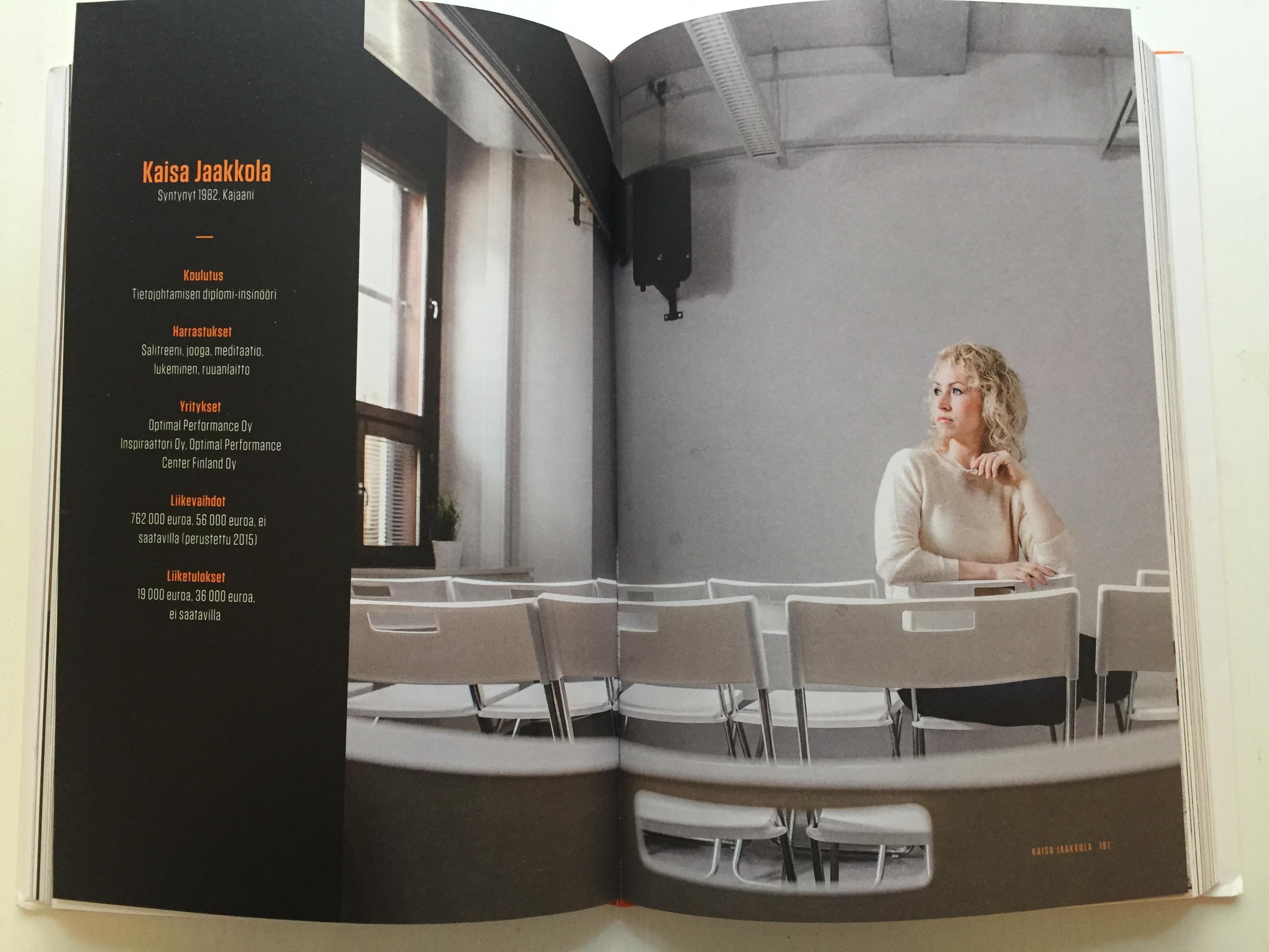 Yrittäjätarinani Taivas+Helvetti Vol 3 -kirjassa